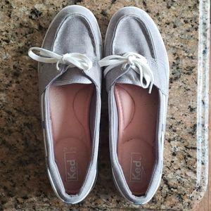 Keds slip on deck shoes